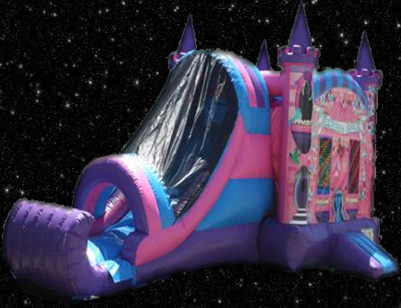 Princess Combo Combination Bounce House
